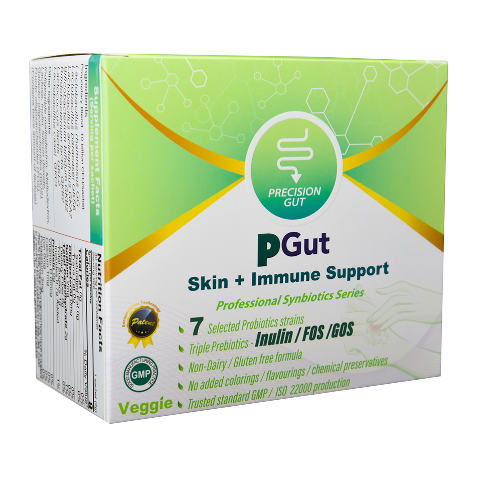 PGut Skin + Immune Support 益生菌
